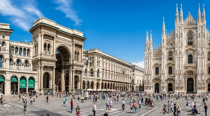 Business address in Milan